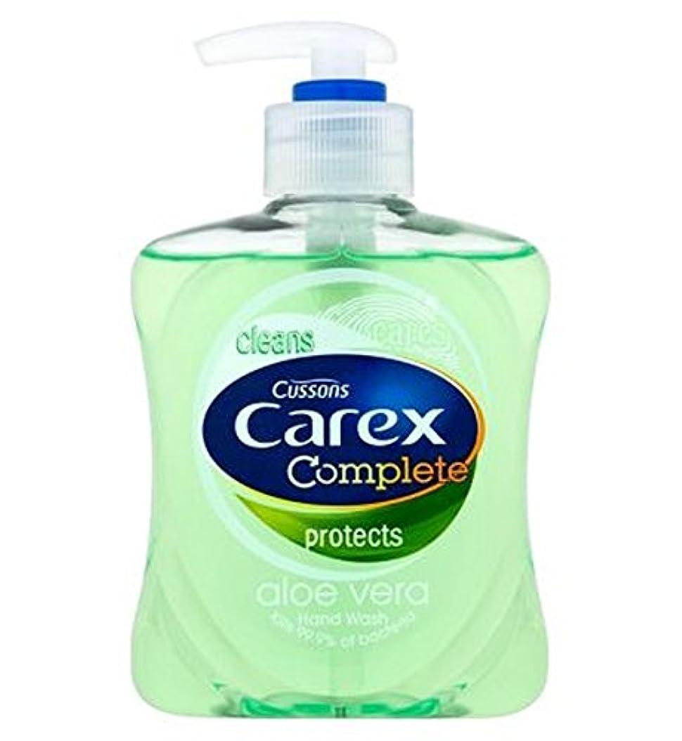 階層旅行壊すCarex Complete Aloe Hand Wash 250ml - スゲ属完全なアロエハンドウォッシュ250ミリリットル (Carex) [並行輸入品]