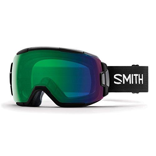 Smith Optics Vice Snow Goggleブラックwith ChromaPop Everydayグリーンミラーレンズ