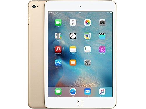 au版 iPad mini 4 wi-fi Cellular 32GB ゴールド MNWG2J/A 白ロム Apple タブレット