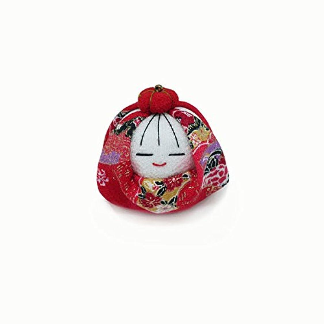 広い居心地の良いメイト匂袋 姫だるま (赤花)