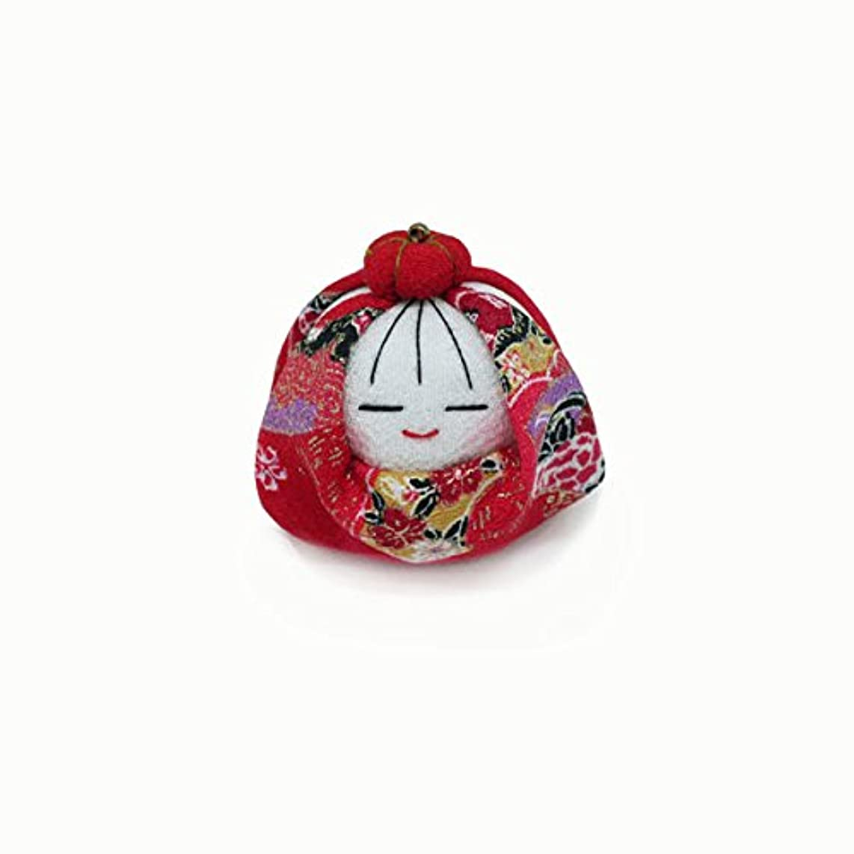 早める詳細な現実匂袋 姫だるま (赤花)