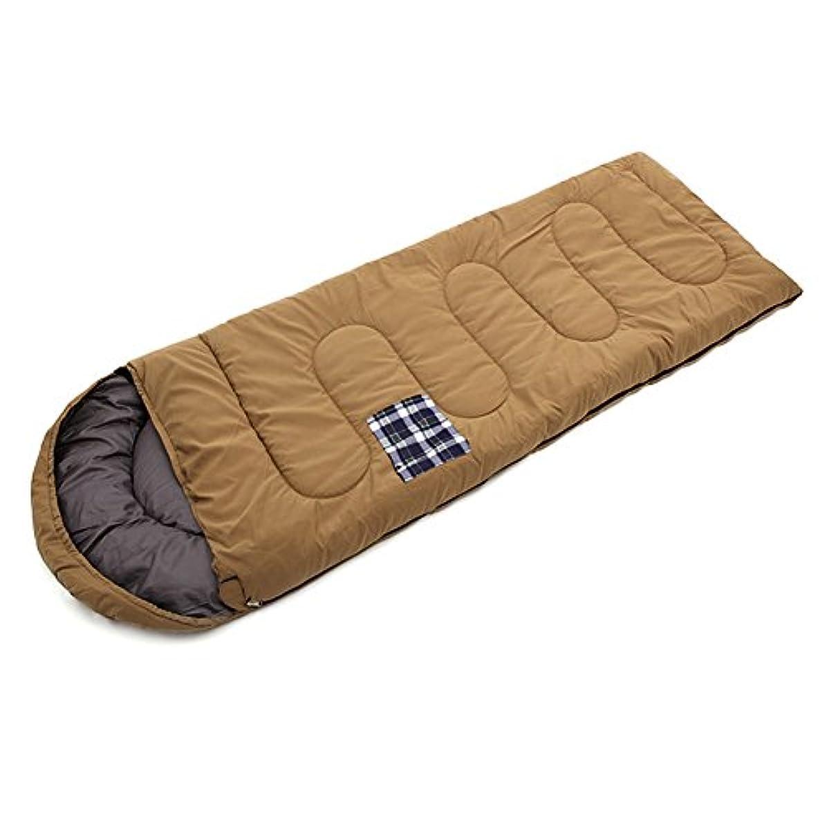 ウイルスどこか式寝袋 シュラフ2.0kg 収納袋付き ポケット付き ゆったり 登山用 避難用 封筒型 旅行 キャンプ ハイキング 軽量 コンパクト収納
