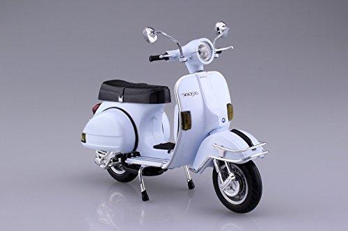 スカイネット 1/12 完成品バイク ベスパ P200E 1978 ホワイト