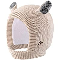 Home Prefer Baby Hat Toddler Girls Kids Earflap Beanie Warm Knitted Winter Hat