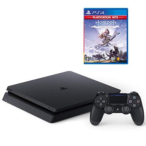 PlayStation 4 ジェット・ブラック 1TB + Horizon Zero Dawn Complete Edition セット【Amazon.co.jp限定】オリジナルカスタムテーマ (配信)