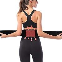 腰用温熱ベルト グラフェン発熱 遠赤外線 腰痛 サポーター コルセット タイプ カイロ USB 充電式 3段階温度調節 冷え性対策 お腹 温める 暖かい腹巻き 男女兼用 ダイエット ぎっくり腰