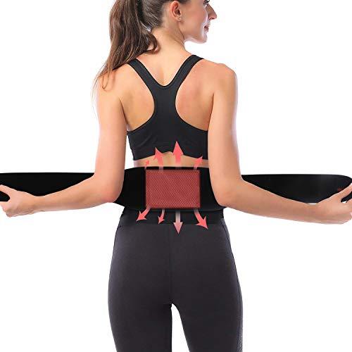 腰用温熱ベルト グラフェン発熱 遠赤外線 腰痛 サポーター ...