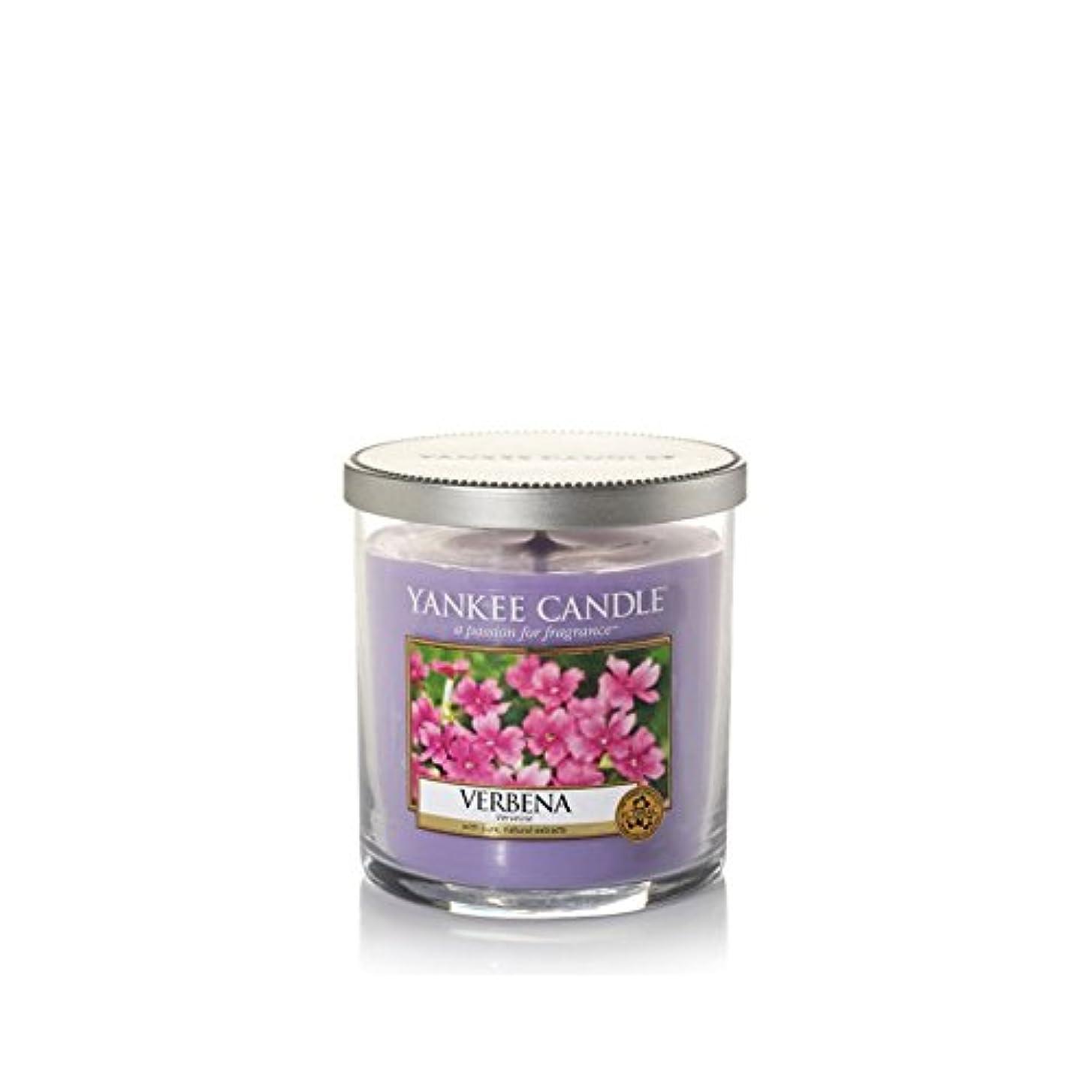 研究所自分テーブルYankee Candles Small Pillar Candle - Verbena (Pack of 2) - ヤンキーキャンドルの小さな柱キャンドル - バーベナ (x2) [並行輸入品]