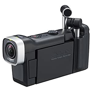 ZOOM ズーム ハンディビデオカメラレコーダー Q4n