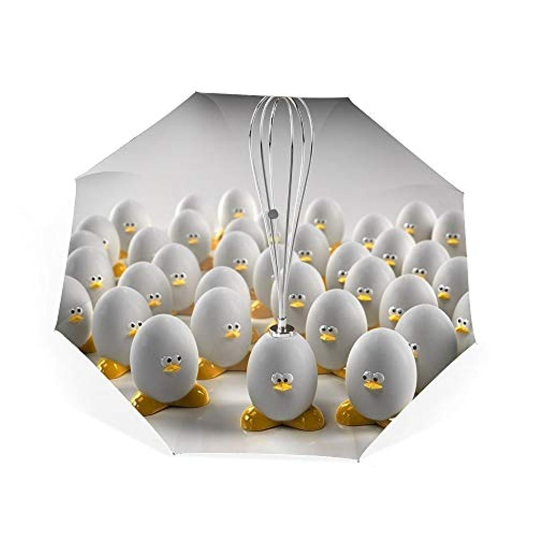 段階束ねる気分が良い抽象的なアートワークグラフィックデザインベクトルの卵自動開閉折り畳み傘 2重構造 耐風撥水8本骨 男女兼用 丈夫 大型 大きな傘 梅雨対策 収納ポーチ付き