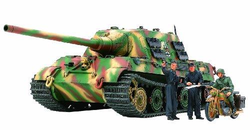 1/35 ミリタリーミニチュアシリーズ No.307 1/35 ドイツ 重駆逐戦車 ヤークトタイガー 中期生産型 オットー・カリウス搭乗車 35307