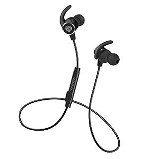 Bluetooth イヤホン, Vismera bluetooth イヤホン 高音質 apt-x IPX5防水防滴 スポーツヘッドセット フィット感イイ マイク付き 軽い ワイヤレスイヤホン iPhone/Android/Sony対応 技術認証済
