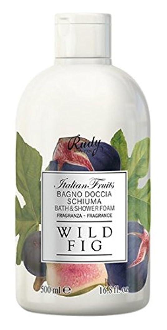 墓地明快手段RUDY Italian Fruits Series ルディ イタリアンフルーツ  バス&シャワージェル Wild Fig