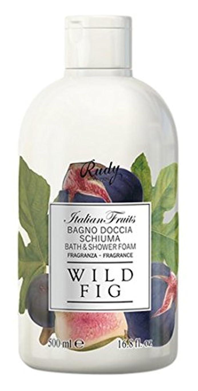 有彩色の醜いフレットRUDY Italian Fruits Series ルディ イタリアンフルーツ  バス&シャワージェル Wild Fig