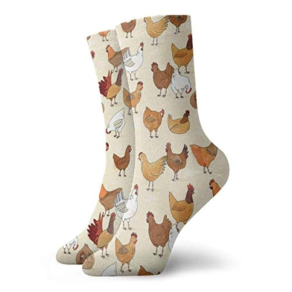 暴露明らかにする整理するストックフォト- Qrriyクリスマス靴下鶏の非スリップ家の床の靴下冬居心地の良いスリッパ靴下女性男性