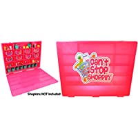 Cornucopia Brands Shopkins Compatible Carrying Case OrganizerCant Stop Shoppin' Pink Carrying Case for Shopkins [並行輸入品]