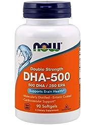 [海外直送品] ナウフーズ DHA-500 90Softgels