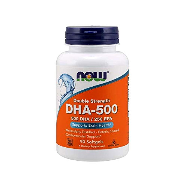 和らげる不均一第九[海外直送品] ナウフーズ DHA-500 90Softgels