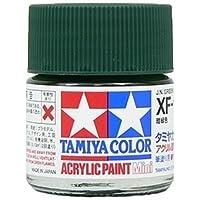 タミヤカラー アクリルミニ XF-11 暗緑色 つや消し