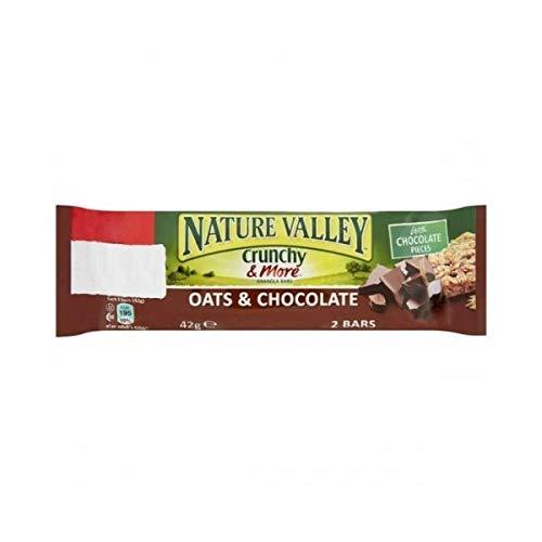 NATURE VALLEY ネイチャーバレー オーツ&ダークチョコレートグラノラバー 2個×18袋入