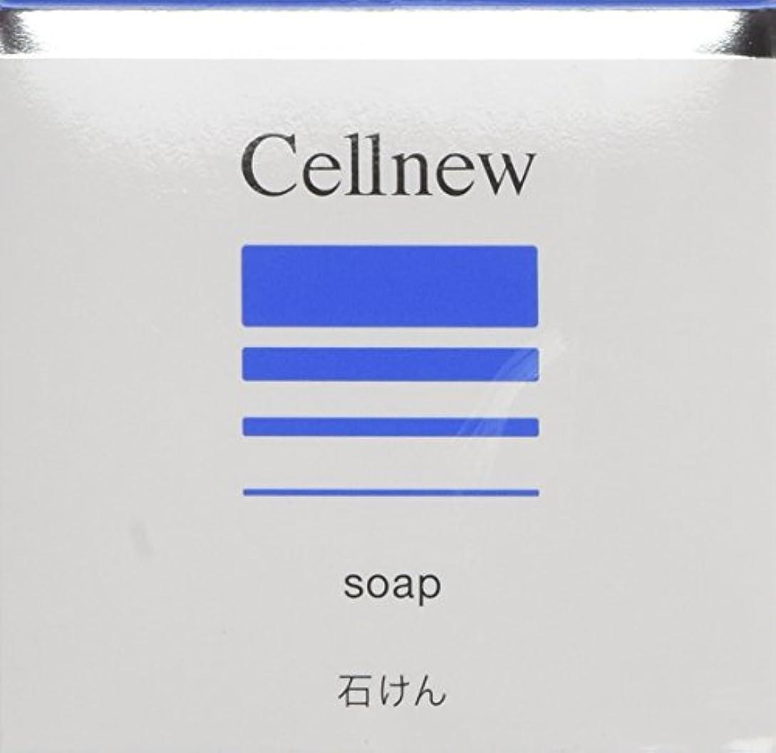 化学薬品相手引退したセルニュー ソープ 80g [CN]【洗顔石鹸?洗顔せっけん】