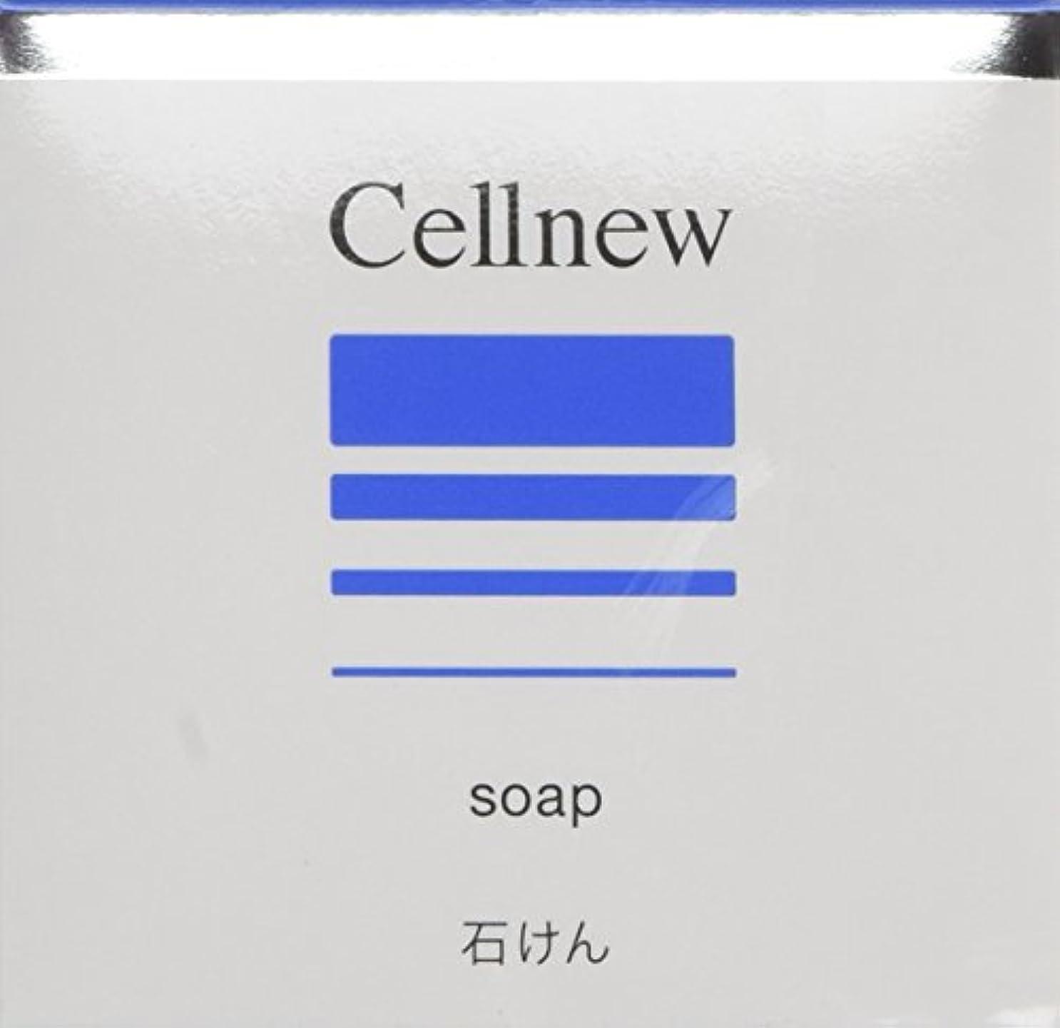 お手伝いさん対角線腐食するセルニュー ソープ 80g [CN]【洗顔石鹸?洗顔せっけん】