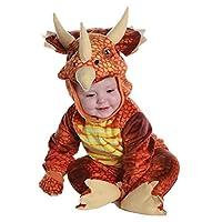 新しいトリケラトプス衣装男の子キッズ T-Rex 衣装コスプレ恐竜ジャンプスーツハロウィンコスプレクリスマスコスチューム