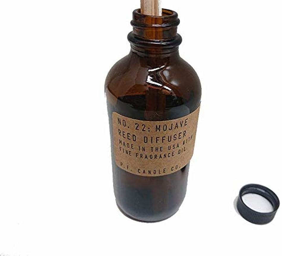 派手式抜け目のないPFキャンドル(pf candle)ディフューザー 10種類 (AMBER & MOSS(アンバー&モス), 3.0oz 容器サイズ:H11cm/φ5cm)