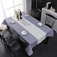 テーブルクロス長方形 オイルプルーフスピルプルーフ そして 耐水性テーブルクロス、 装飾生地 テーブルカバー 屋外および屋内での使用の場合、 5色 (Color : C, Size : 110*170cm)