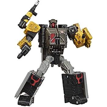 トランスフォーマー おもちゃ サイバトロン戦争:Earthrise Deluxe Wfc-E8 Ironworksモジュレーターフィギュア - 子供年齢8歳以上、5歳以上