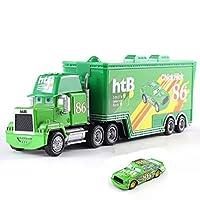 CBPPディズニーピクサー車 2 3 おもちゃライトニングマックィーン · ジャクソン嵐叔父トラックコンビネーション 1:55 車モデルおもちゃの子供誕生日ギフトおもちゃの車のる