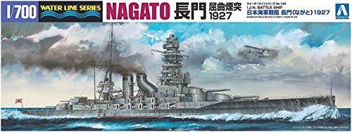 1/700 ウォーターライン No.124 日本海軍戦艦 長門 1927