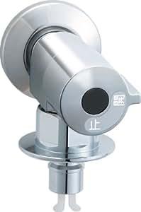 LIXIL(リクシル)INAX 洗濯機用水栓金具 緊急止水弁付横水栓 露出タイプ(屋内専用) LF-HN50KQ