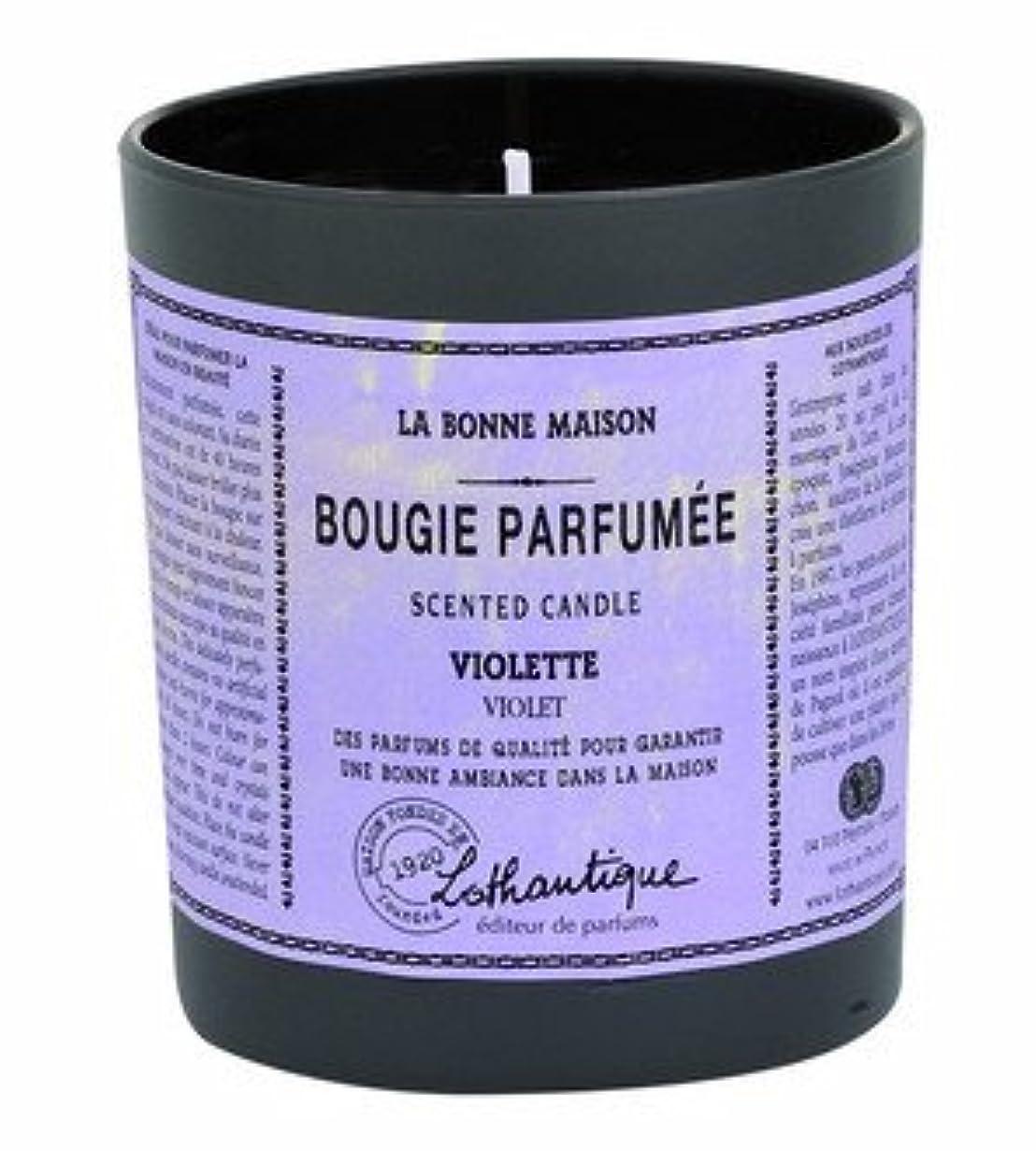 窒息させる製品珍しいLothantique(ロタンティック) LES Bonne Maison(ボンメゾンシリーズ) グラスキャンドル 160g 「グレープフルーツ」 3420070039453