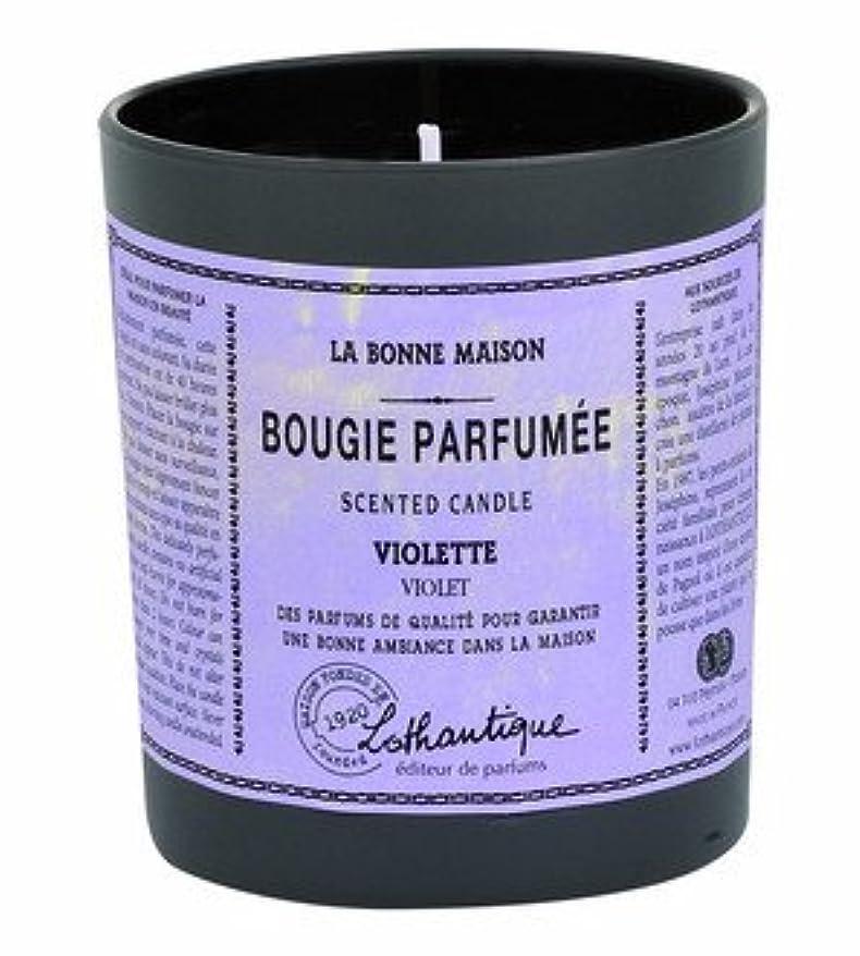 伝記操作可能暗くするLothantique(ロタンティック) LES Bonne Maison(ボンメゾンシリーズ) グラスキャンドル 160g 「ミモザ」 3420070039422