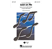 Kirk Franklin: Lean On Me (SATB). Partitions pour SATB, Accompagnement Piano