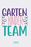 Kinder Garten Team - 2020: Diary Planner Agenda  Organiser- Week Per View.  Gift for Kindergarten Staff Worker