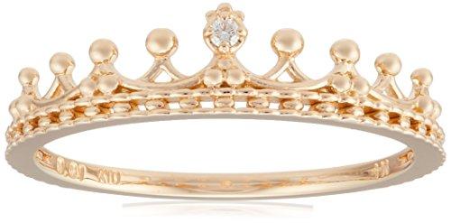 [ノジェス] NOJESS 【K10ゴールド クラウンダイヤモンドリング】 3015311100600009 日本サイズ9号