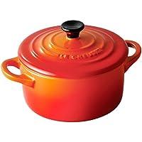 ルクルーゼ ミニ ココット 耐熱 容器 オレンジ オーブン 電子レンジ 対応 910050-00-09