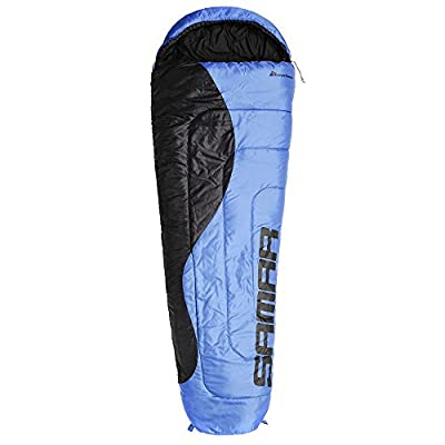 Mummy Camping Sleeping Bag for Backpacking, Hiking - 220 x 75 cm