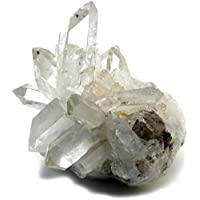 トマスゴンサガ産 水晶クラスター418g ミナスジェライス州 高品質クリスタル 原石 TOPグレード 虹入り レインボー