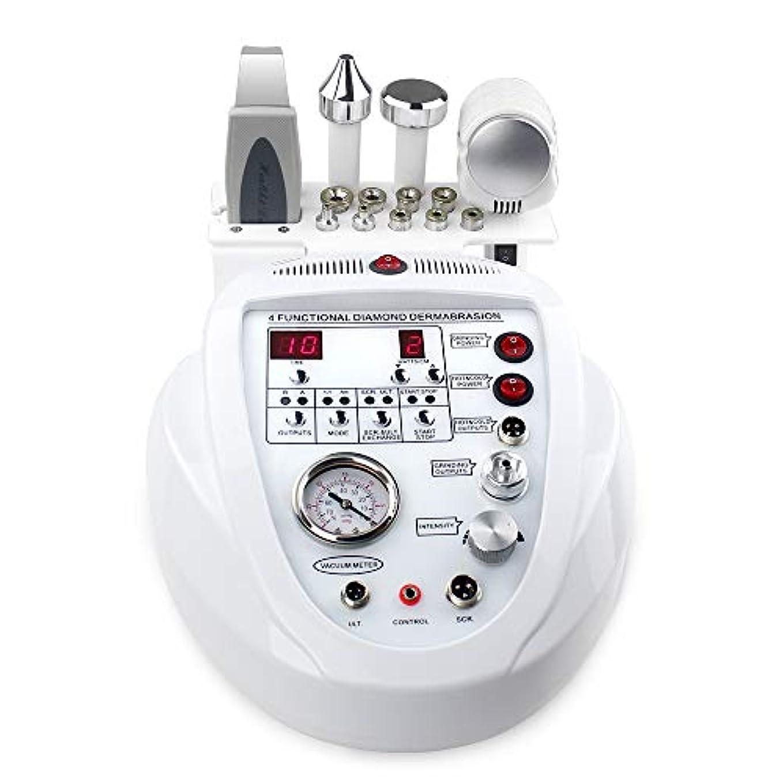 信号フラグラント行商個人的な家の使用のための1つの携帯用ダイヤモンドのマイクロダーマブレーションDermabrasion機械顔の心配の大広間装置に付き5つ