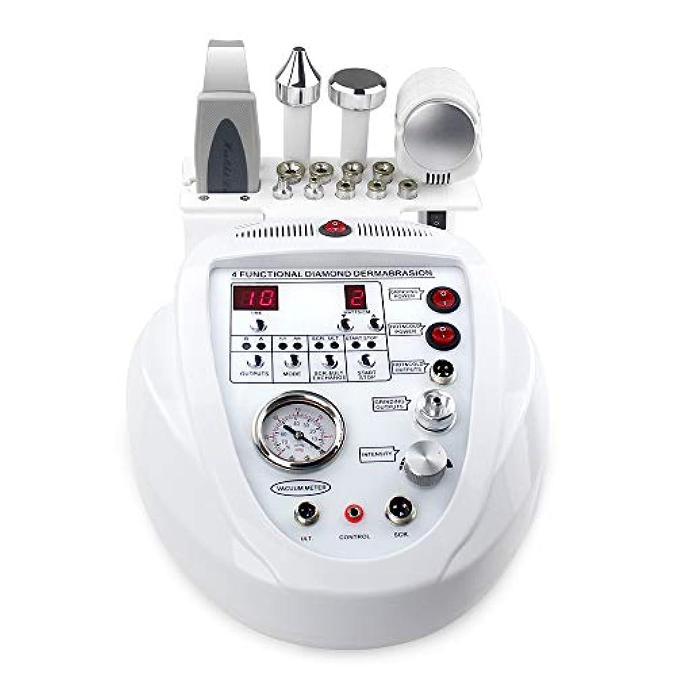 吐く偏差モルヒネ個人的な家の使用のための1つの携帯用ダイヤモンドのマイクロダーマブレーションDermabrasion機械顔の心配の大広間装置に付き5つ