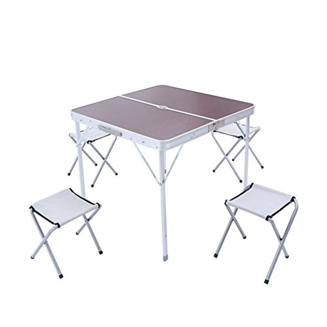 承認する医師基礎屋外の折りたたみ式テーブルアルミニウム折りたたみ式テーブルおよび椅子携帯用広告テーブルピクニックアルミニウムテーブルおよび折りたたみ式テーブル、折りたたみ式デザイン アウトドア キャンプ用