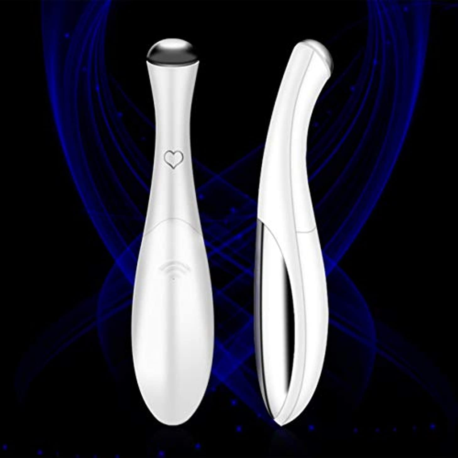 意義あいにく白いEye Massager Device Pen Type Facials Vibration Anti-aging Wrinkle Removal Pouch Dark Circles Skin Lifting Machine...