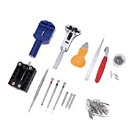 sharprepublic 腕時計分解工具キット 腕時計修理工具キット 携帯修理ツール 時計修理店 用品 約144個セット