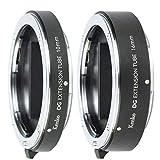 Kenko レンズアクセサリ デジタル接写リングセット ニコン Zマウント用 10mm/16mm 2本セット 電子接点付き 日本製 51501