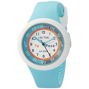 [カクタス]CACTUS キッズ腕時計 10気圧防水 ライトブルー CAC-92-M04 ガールズ 【正規輸入品】