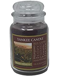 Yankee Candle WarmタバコJar Candle – 22 oz Largeサイズ