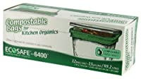EcoSafe-6400 Compostable Food Waste Trash Bag by Presto Products